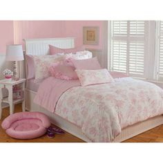 Today  $74.99  I would tell you to stop looking around and purchase this ASAP. I found an adorable bed skirt on another site. It is made if three layers of tulle and it matched perfectly. I am a happy customer!