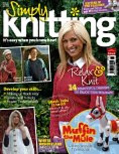 Ravelry: Simply Knitting 10, January 2006