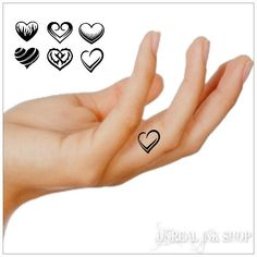 Hey, I found this really awesome Etsy listing at https://www.etsy.com/listing/198780458/temporary-tattoo-12-heart-finger-tattoos
