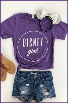 Disney Girl Shirt   Disney   Disney Shirt   Disneyland   Walt Disney World   Disney Obsessed #Ad