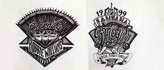 Designer cria um logo para uma música todos os dias