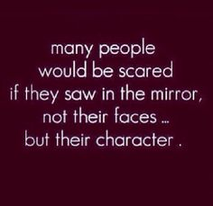 Be sure your character is beautiful :)