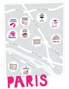 paris map/guide