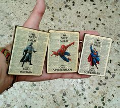 Fridge Magnets set of 3, handmade, magnet, kitchen, wooden, vintage, design, superman, batman, spiderman, keep calm Disc Magnet, Cheap Pendant Lights, Batman And Superman, Fun Prints, Keep Calm, I Shop, Magnets, 3d Printing, Great Gifts