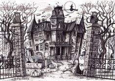 victorian haunted silhouette - חיפוש ב-Google