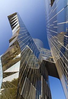 Gas Natural Office Building, Barcelona, Spain by jmhdezhdez, via Flickr