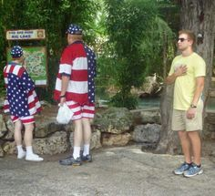 so doing this next time I see a tourist wearing that!
