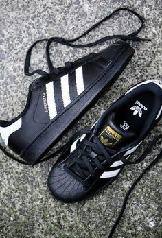 be3975631a7a5 adidas superstars 99 Adidas Superstar Schwarz, Adidas Superstar Shoes  Black, Adidas Black Sneakers,