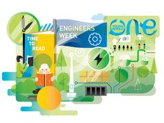 ESB illustrations on Behance