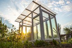 Gewächshaus/Tomatenhaus Selbst Bauen Aus Alten Fenstern. Detaillierte  Bauanleitung Mit Materialliste Und Kosten Und