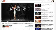 1994: Daniela Cannavale coach di Michael Jackson...