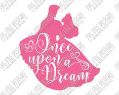 Aurora and Prince Phillip Silhouette Disney Word Art Cut File Set in SVG, EPS, DXF, JPEG, and PNG