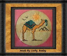 Camel cross stitch