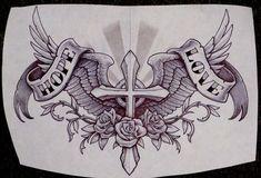 Lucky Tattoo by Metacharis on DeviantArt Lucky Tattoo, Tattoo Son, Arm Band Tattoo, Cross Tattoo Designs, Tattoo Design Drawings, Tattoo Designs Men, Family Tattoo Designs, Cross Designs, Tribal Tattoos