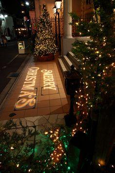 イルミネーションライト文字     京都セントアンドリュース教会  http://www.st-andrews.jp