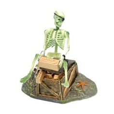 Amazon.com: Skeleton On Chest Action-Air Ornament: Pet Supplies