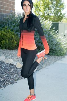 Ombre Workout Jacket - 5 Colors! | only $8.99 on Jane #workoutoutfits