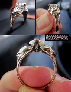 "Would you say ""I do"" to a Cylon engagement ring?"