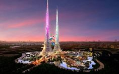 FOTO În China se va construi cea mai înaltă clădire din lume