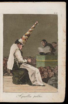 "Aquellos polbos. (That dust); Plate 23 bound into ""Los Caprichos"" | Museum of Fine Arts, Boston"