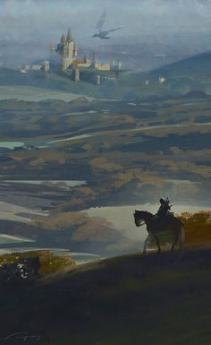 The Witcher Game, The Witcher Books, Witcher Art, Fantasy Art Landscapes, Fantasy Landscape, Fantasy Artwork, High Fantasy, Medieval Fantasy, Fantasy World