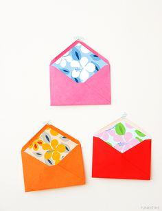 Summer Flower Envelope Liner