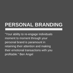 Successful personal branding isn't only about 'engaging' but your ability to successfully re-engage time after time.  Get your Free Marketing & Personal Branding guide just by clicking the link in my bio @benangelauthor now!