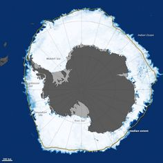 2014 Arctic sea ice minimum sixth-lowest on record Sea ice in the Arctic continued its below-average trend this year as ice declined to its annual minimum. Meanwhile, in Antarctica, sea ice was at a record high. Antarctic sea ice on September 19, 2014.