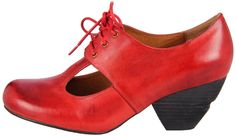 red and vintage-inspired mary janes!