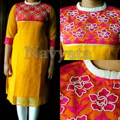 Fabric - Jute,  Work - Moti handwork For further details contact us on +919892398900, +919930413660