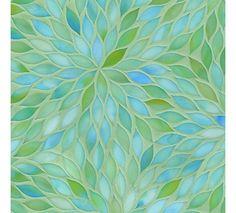 Beautiful Backsplash Tiles For Every Budget Beau Monde Gl Blossom Aquamarine Ann