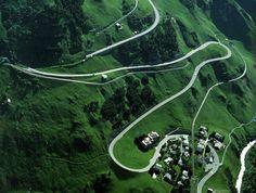 Oberalp Pass -- Switzerland
