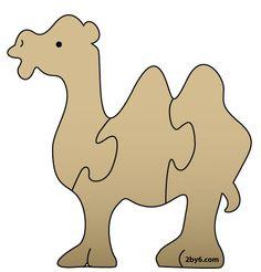 Scroll Saw Patterns | camel