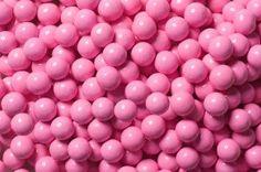 for Sixlets Mini Milk Chocolate Balls - Pastel Pink: Bag Pastel Pink, Bright Pink, Blush Pink, Pink Love, Pretty In Pink, Sixlets Candy, Hot Pink Lipsticks, Mini Milk, Pink Lip Gloss