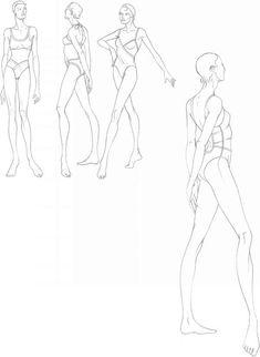 Drawing Fashion Bodies Photos