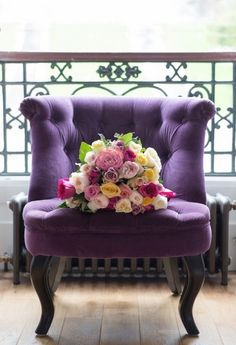 Purple chair lOvE! Je Veux Ton Amour