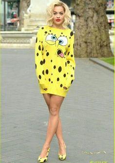 Wow. Rita Ora. Sponge Bob
