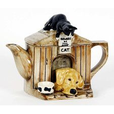 One Cup 0.25-qt. Kennel Teapot
