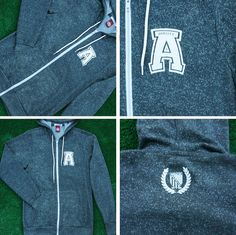 Soft Full-Zip Hoodie Jacket #madeinusa#AmericanVarsity