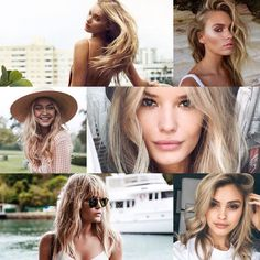"Chloe Zara on Instagram: ""Blonde Mood Board .. // #SummerHair #Inspiration #Tumblr #Blonde #ChloeZaraStyling"""