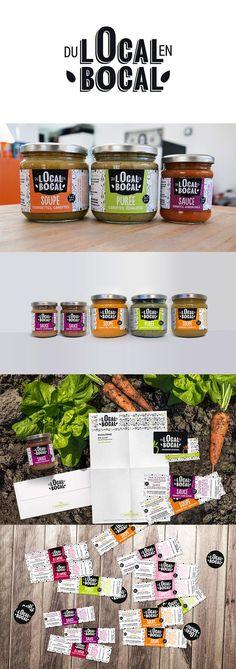 #produitslocaux #packaging #legumes  #dulocalenbocal #conserverie