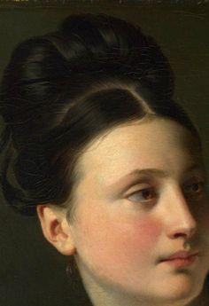 The Surprise (detail), Claude-Marie Dubufe