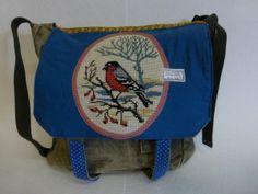 Ideetje voor oude borduurwerken Messenger Bag, Satchel, Bags, Handbags, Satchel Bag, Totes, Hand Bags, Purses, Bag