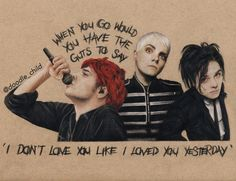Gerard Way from My Chemical Romance Compilation Hair Styles