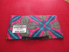 Fantabela multicolored graphic clutch.  http://www.etsy.com/shop/FANTABELA