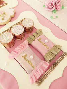 Shabby Chic Vintage Birthday Party Ideas | Photo 7 of 23 | Catch My Party