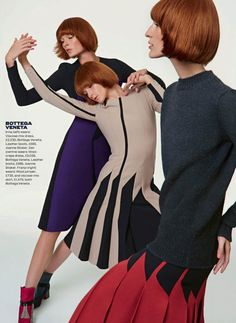 New Season Collections By Kai Z Feng For Uk Elle August 2014