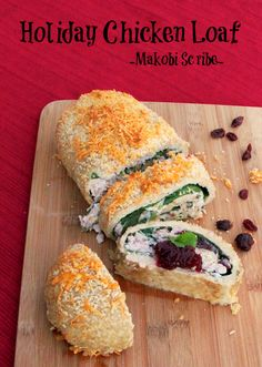 Holiday Chicken Loaf RECIPE