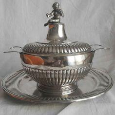 Silver tureen, Roberto Tombesi, Rome, 19th century
