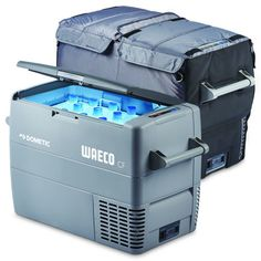 Dometic Waeco Fridge / Freezer + Protective Cover - Dometic Waeco - The Dometic Waeco / / Fridge/Freezer is the most popular model in the Dometic Waeco portable fridge range! Portable Fridge, Freezer, 50th, Cover, Stuff To Buy, Campers, Blanket, Freezers